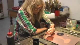 Mamma Andersson at Crown Point Press, 2013 (8 minutes)