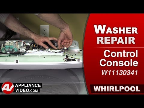 Whirlpool Washer -  Console Console - Repair & Diagnostic