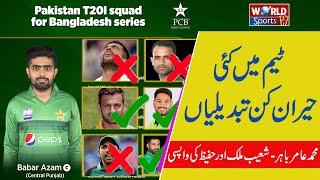 Pakistan squad for Bangladesh 2020  announced   Pak vs Bangladesh series 2020