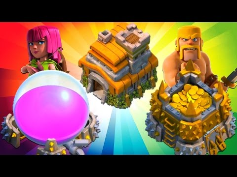 Clash of Clans Town Hall 7 Farming Non Stop LOOT!