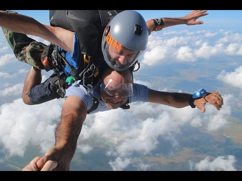 Dr. T goes SKYDIVING!!!!!