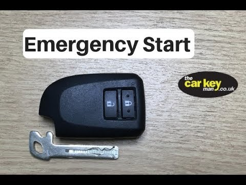 C1, 108 and Aygo Key Problem HOW TO start car