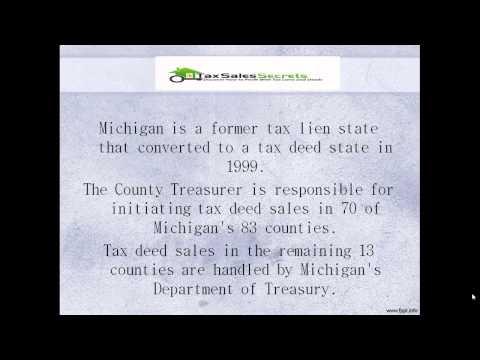 Michigan Tax Deeds