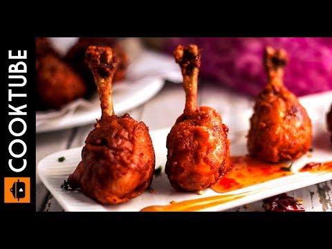 Easy Crispy Chicken Lollipop Recipe | Chicken Drumsticks