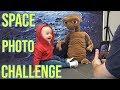 When Noah met E.T Space Photo Shoot Vlog! Fun Family Three