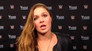 Ronda Rousey discusses her love of wrestling | ESPN