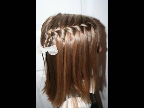The Waterfall Braid {Plait} | Popular Hairstyles | Cute Girls Hairstyles