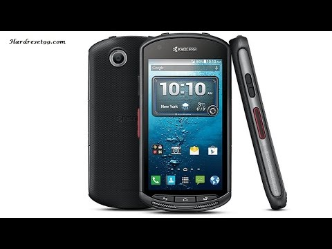 Kyocera DuraForce Hard reset, Factory Reset & Password Recovery