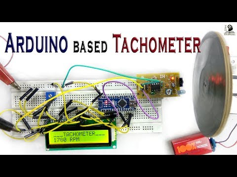 How to Design Arduino based Digital Tachometer on Breadboard / RPM Counter complete tutorial
