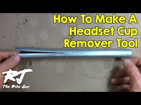 How To Make A Headset Cup Remover Tool