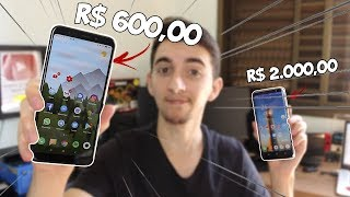 TROQUEI meu Galaxy S8 por um XIAOMI Redmi 5 Plus!   Vale a pena?