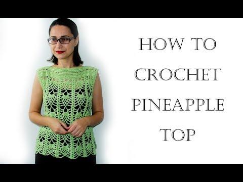Crochet Fashion   Pineapple Top