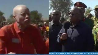 """Live: Mfungwa Amchoma Afisa Magereza Kwa Magufuli """"ondoka Nae Ataniua"""""""