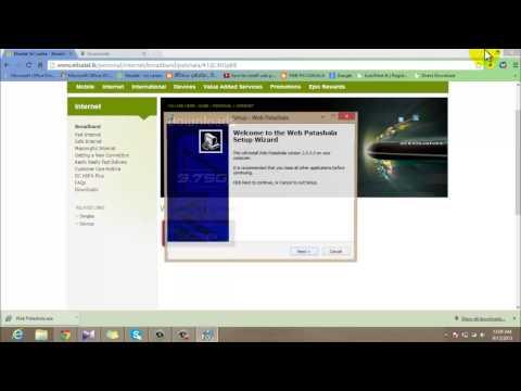 How to install web patashala windows7 & 8 Updated..