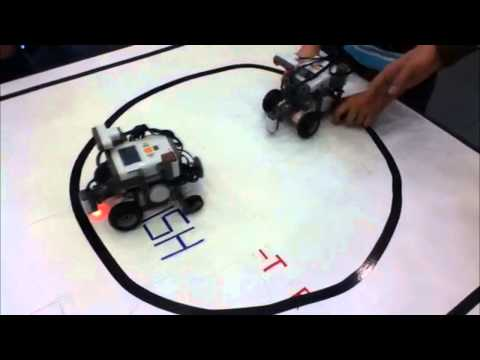 Lego Mindstorms NXT G in Circle