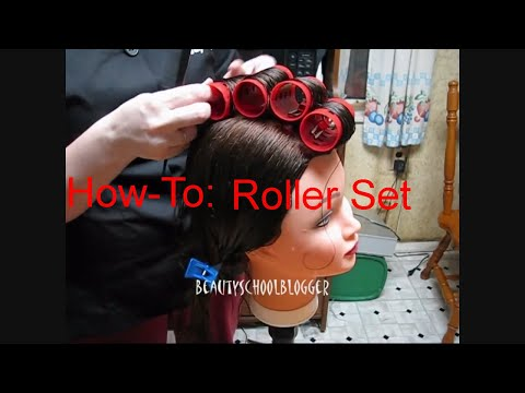 How-To: Roller Set Hair Tutorial