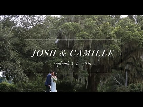 Josh & Camille | Chic Garden Wedding