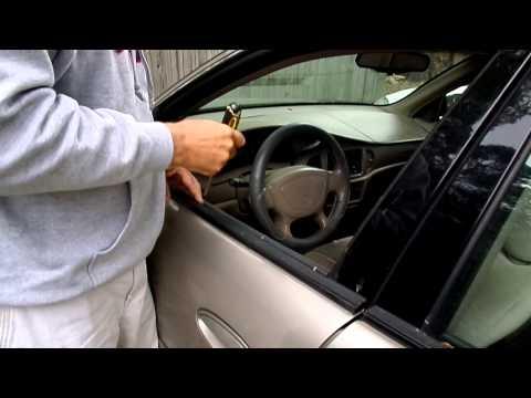 How to get car door window up when it has fallen into door panel