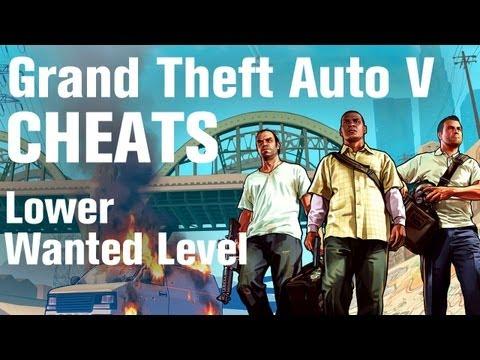 GTA 5 Cheats - Lower Wanted Level