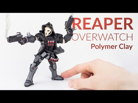 Reaper (Overwatch) – Polymer Clay Tutorial