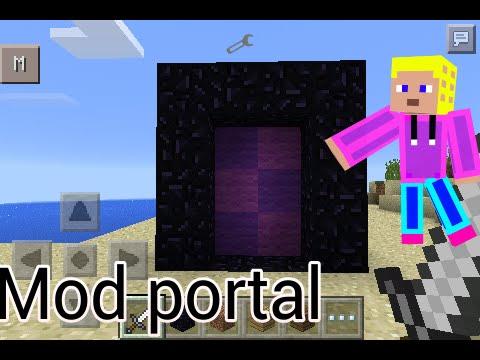 Mod portal minecraft pe 0.10.4