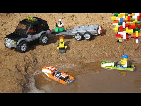 Lego For Boys - Lego City 2 SUV on the Beach Lego City