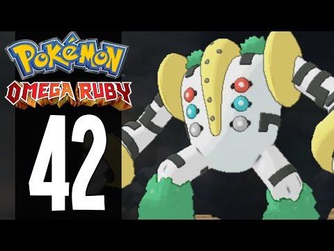 Pokemon Omega Ruby - Part 42 - Catching Regigigas (Gameplay Walkthrough)