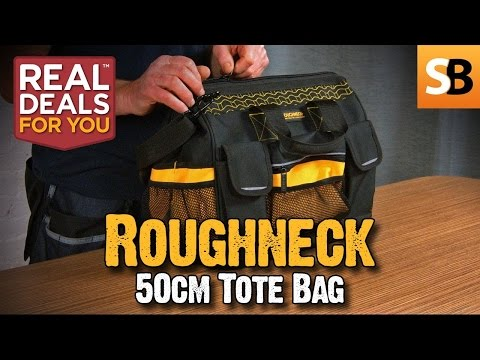 Skill Builder Review - Roughneck 50cm Tote Bag