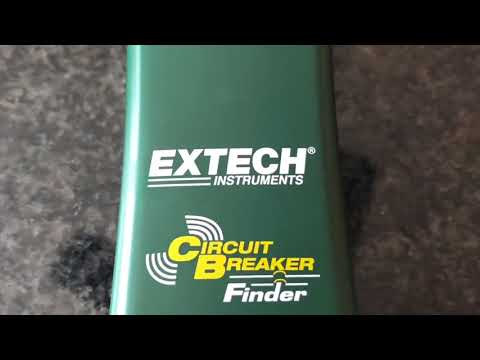 Trying out the Extech CB10 Circuit Breaker Finder