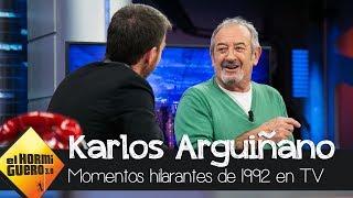 Karlos Arguiñano Recuerda Sus Momentos Más Hilarantes Del Año 1992 - El Hormiguero 3.0