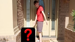 WHO LEFT THIS AT OUR DOOR?!