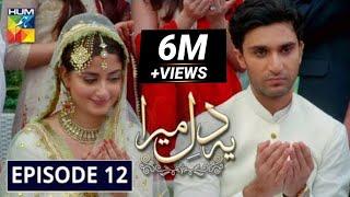 Ye Dil Mera | Episode 12 | Ahad Raza Mir & Sajal Aly | HUM TV Dramas