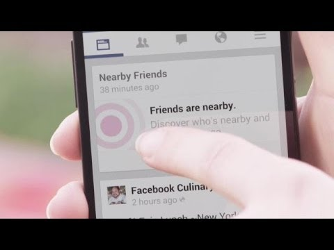 Facebook Debuts Nearby Friends | Demo