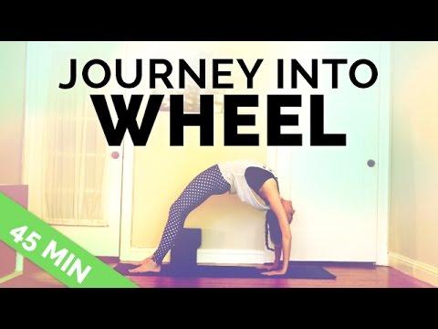 Backbending Yoga Sequence: How to do Full Wheel (45-Min)   Backbending Yoga Flow
