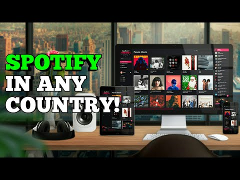 Create A Spotify Account In Any Country Using PC/Computer ! LATEST(2017).