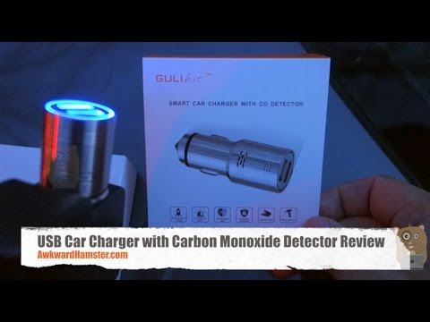 USB Car Charger with Carbon Monoxide Detector Review