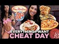 Fitgirl Dream Cheat Day Eating Whatever I Want For 1 Day
