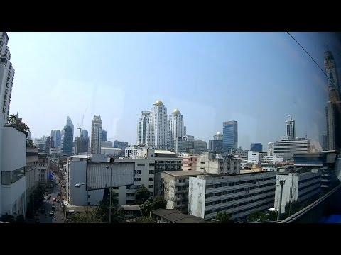 Bangkok Suvarnabhumi Airport to City Centre Airport City Line / Аэропортовое метро Бангкока