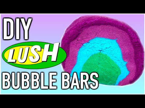 DIY Lush Bubble Bars + Demo!