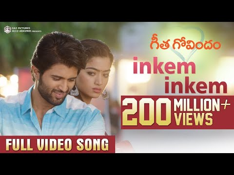 Xxx Mp4 Inkem Inkem Full Video Song Geetha Govindam Vijay Deverakonda Rashmika Gopi Sunder 3gp Sex