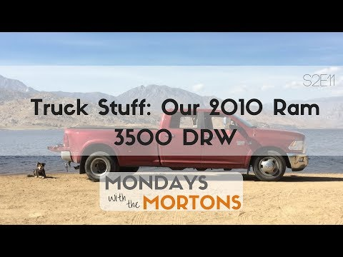 Tour Our RV Tow Vehicle for Fulltime Travel - 2010 Dodge 3500 | Mondays with the Mortons S2E11