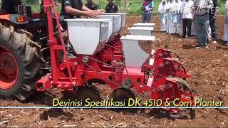 Traktor Roda 4 Kioti DK 4510 di Subang - Jawa Barat