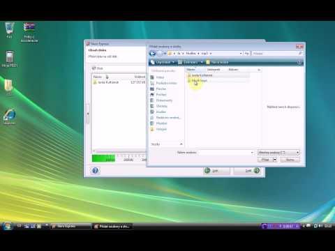 Vypalování - Vypalování mp3 CD programem Nero