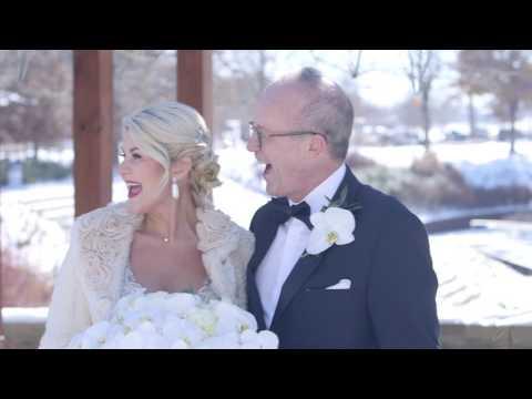 Downtown OKC Winter Glam Colcord Wedding | Oklahoma Videography | Christa and Calvin