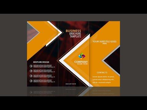 Tri Fold Brochure Design | In Photoshop CC By Sahak
