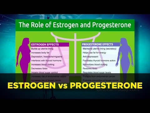 Estrogen vs Progesterone Hormonal Dominance: Control Low Hormones Symptoms