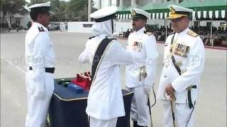 95th Midshipmen commissioning and 4th Short Service Commission (SSC) class passing out parade