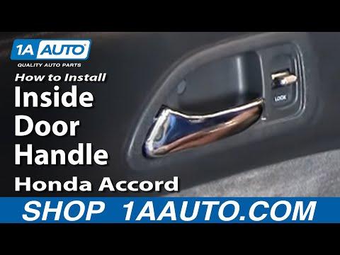 How To Install Replace Inside Door Handle Honda Accord 94-97 1AAuto.com