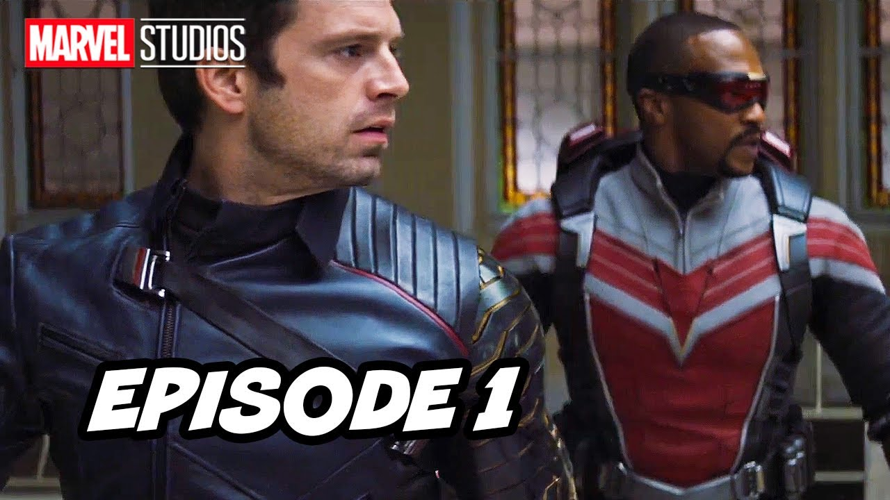Falcon and Winter Soldier Episode 1 TOP 10 Breakdown and Wandavision Marvel Easter Eggs