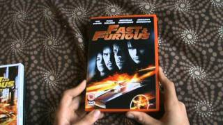 Fast and The Furious Quadrilogy DVD Review